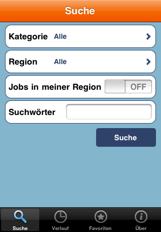 Ländlejob.at iPhone Applikation