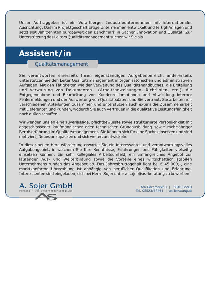 assistentin-qualitatsmanagement