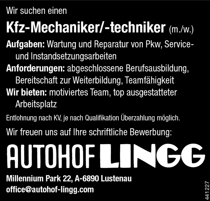 kfz-mechanikertechnikerin