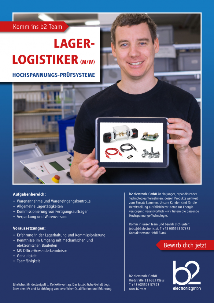 Lager-Logistiker (m/w)
