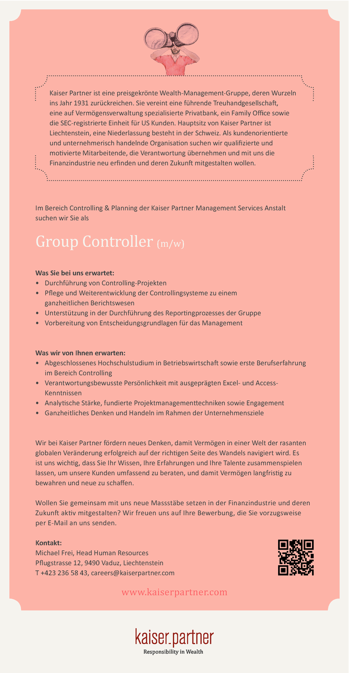 Group Controller (m/w)