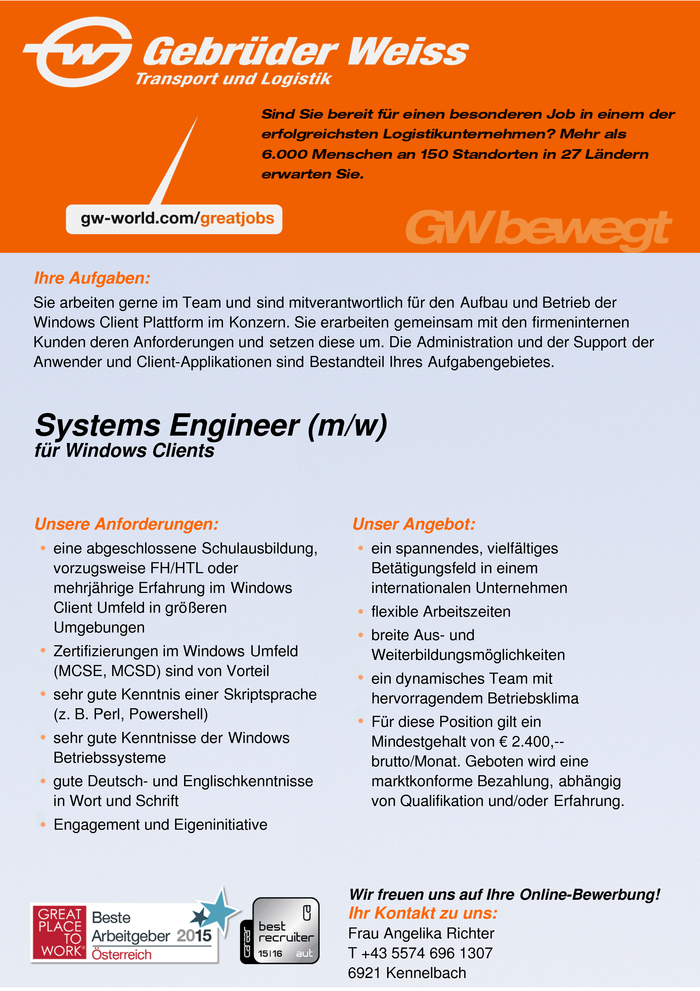 systems-engineer-mw-fur-windows-clients