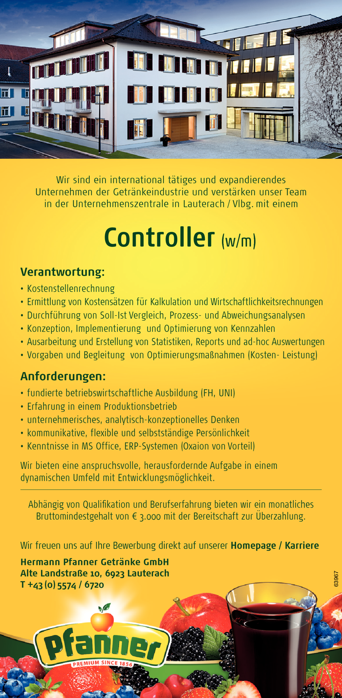 Controller (w/m)
