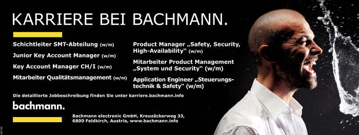 Schichtleiter/in, Key Account Manager/in, Qualitätsmanagement, Product Manager/in, Product Management, Application Engineer