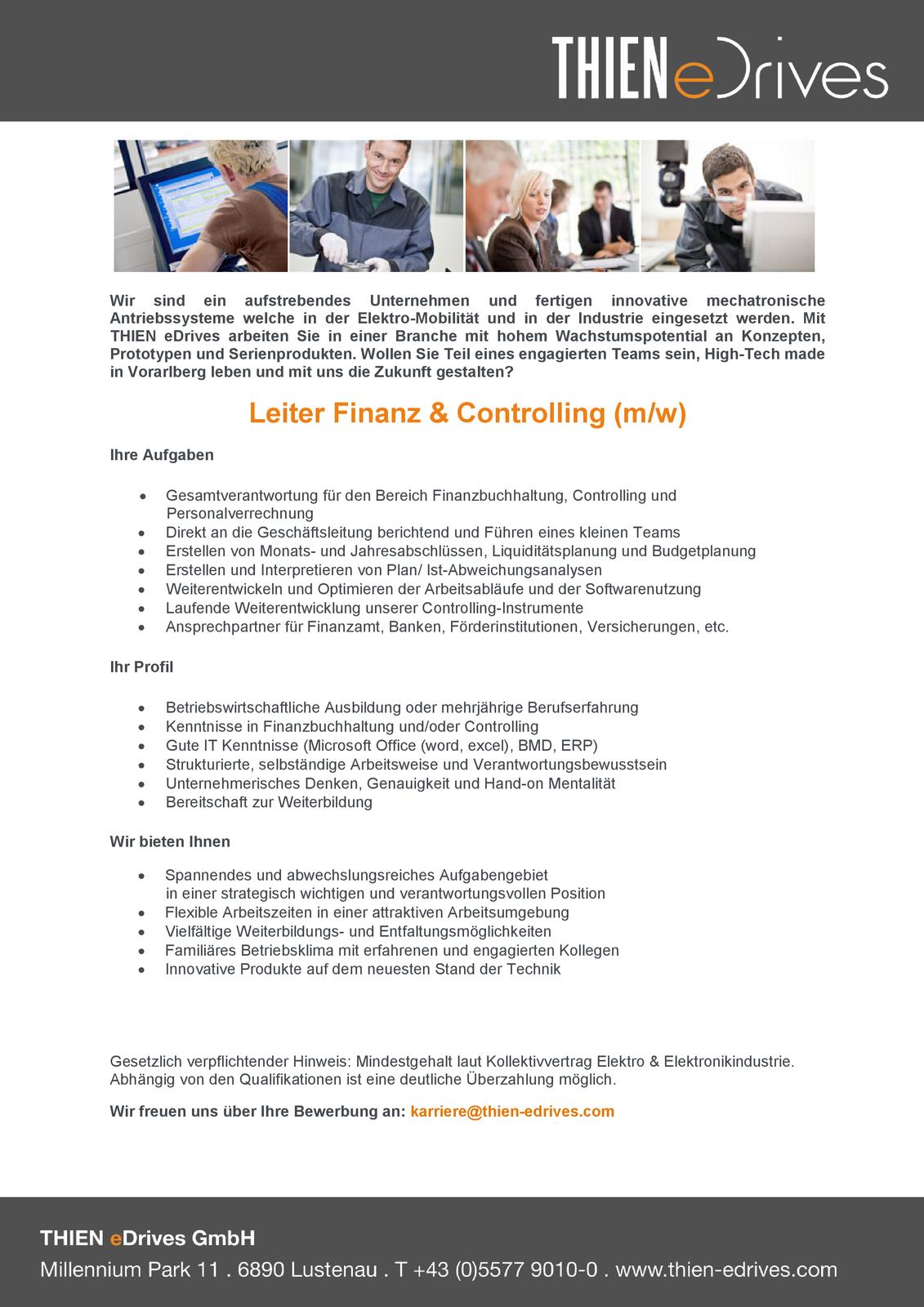 Leiter Finanz & Controlling