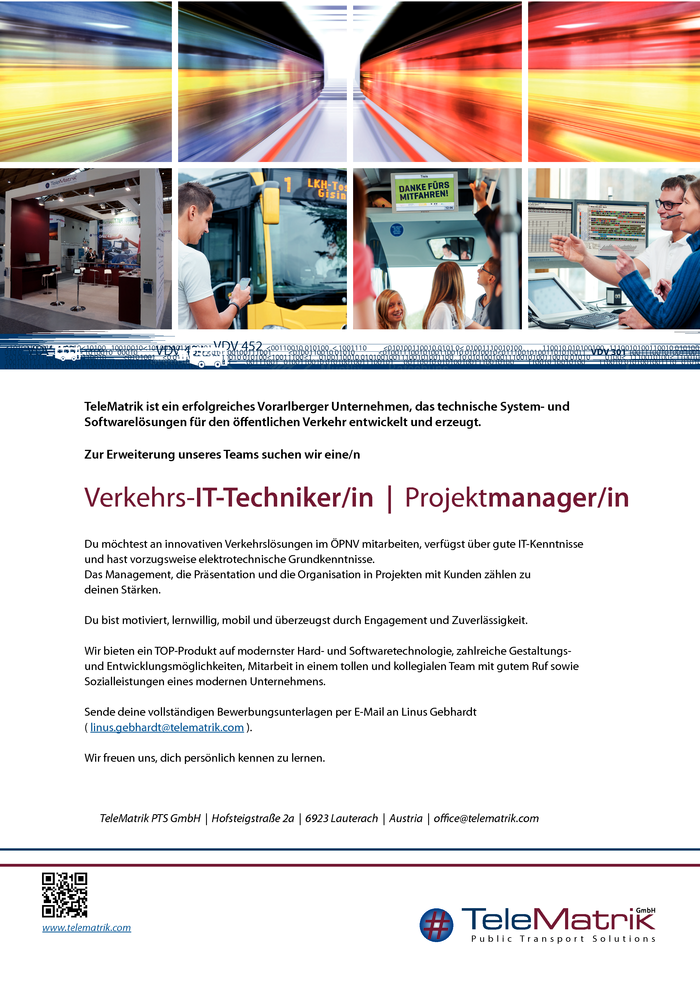 Verkehrs-IT-Techniker/in  |  Projektmanager/in