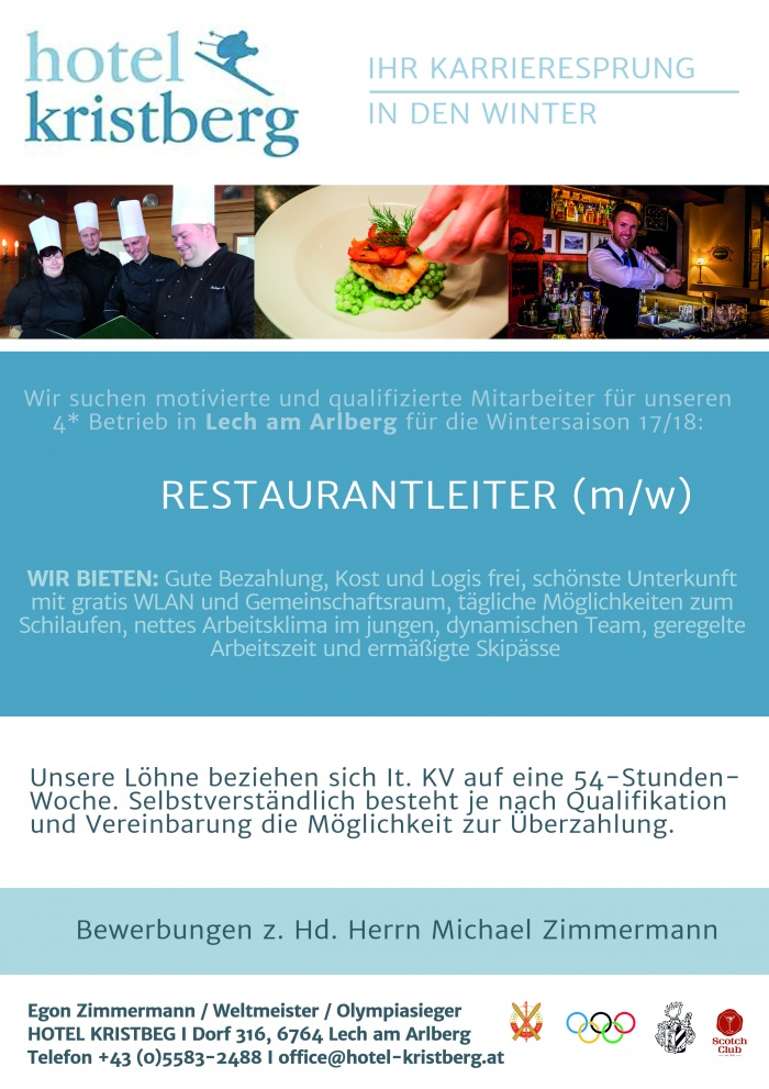 Restaurantleiter m/w