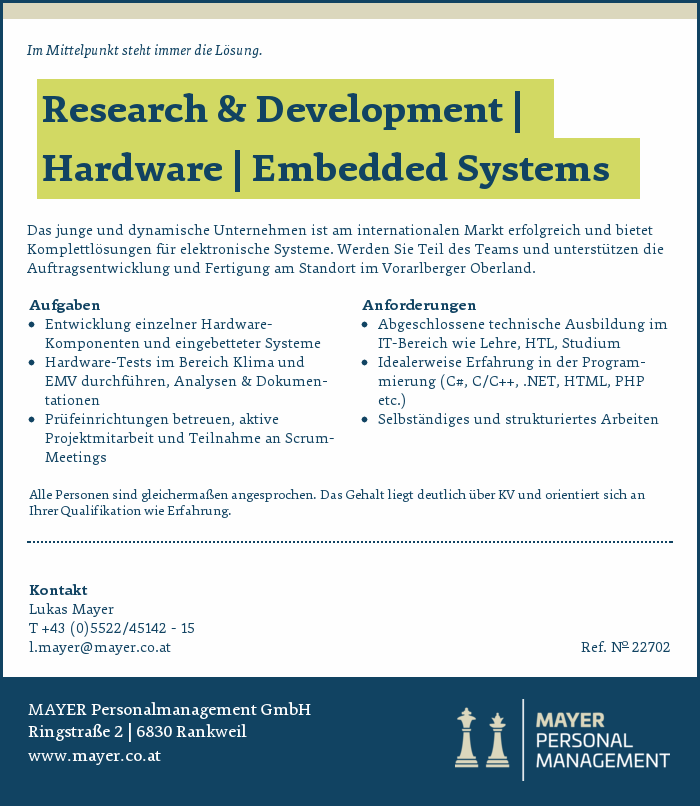 Research & Development | Hardware | Embedded Systems