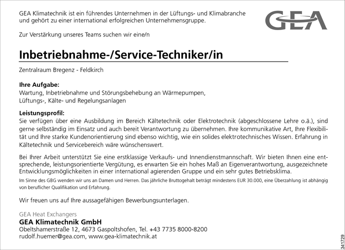 Service-Techniker/in