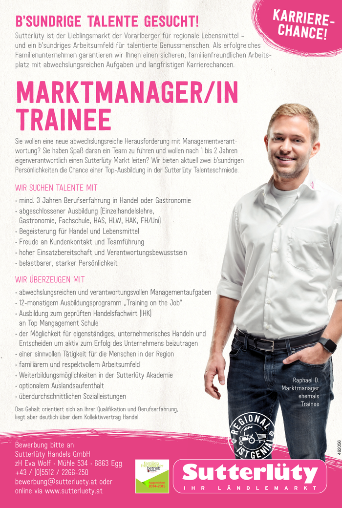 Marktmanager/in Trainee