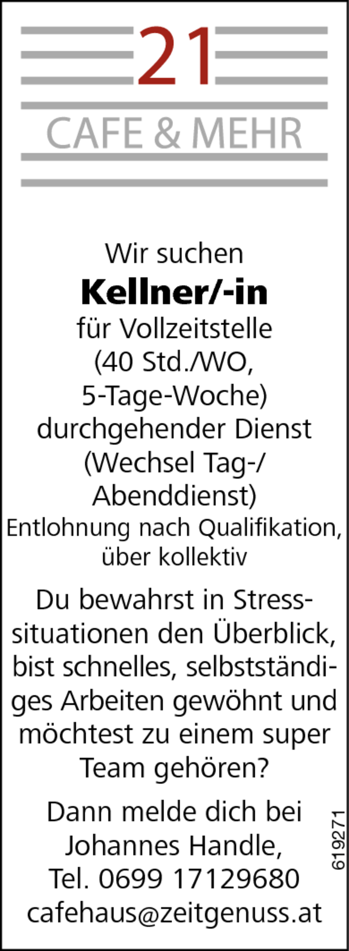 Fantastisch Kellner Job Lebenslauf Probe Ideen - Entry Level Resume ...