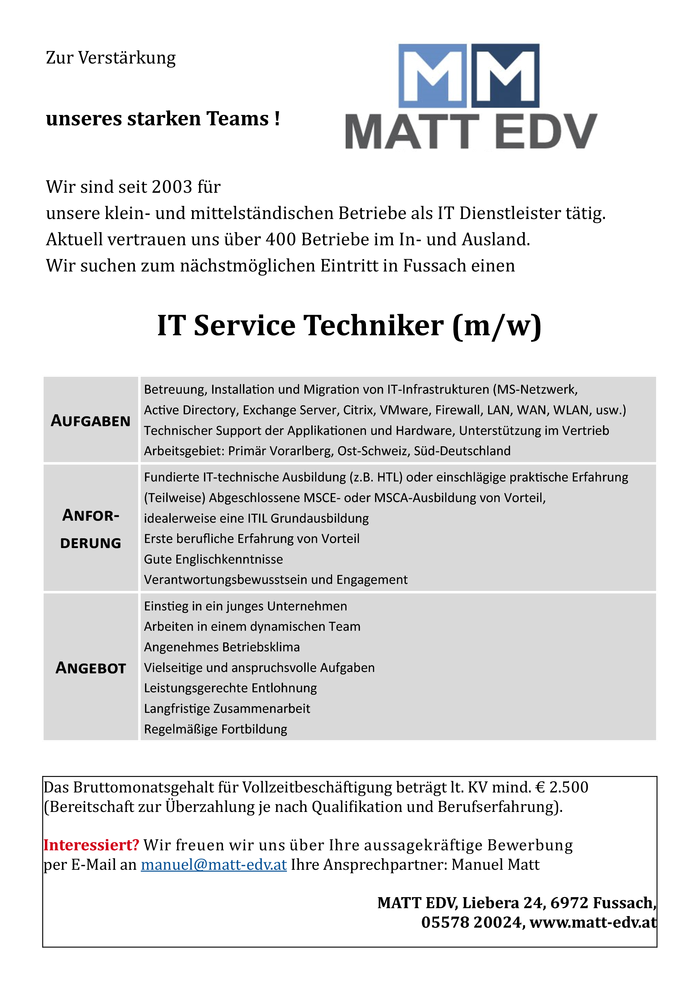 it-service-techniker