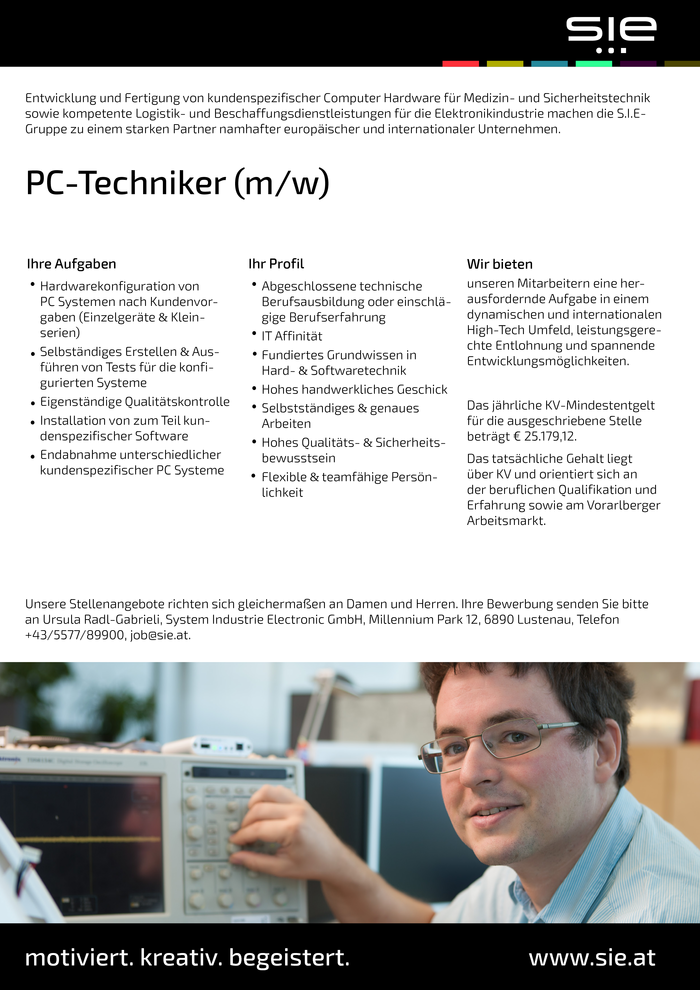 PC-Techniker (m/w)