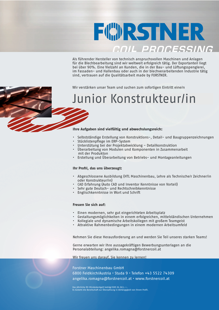 junior-konstrukteurin