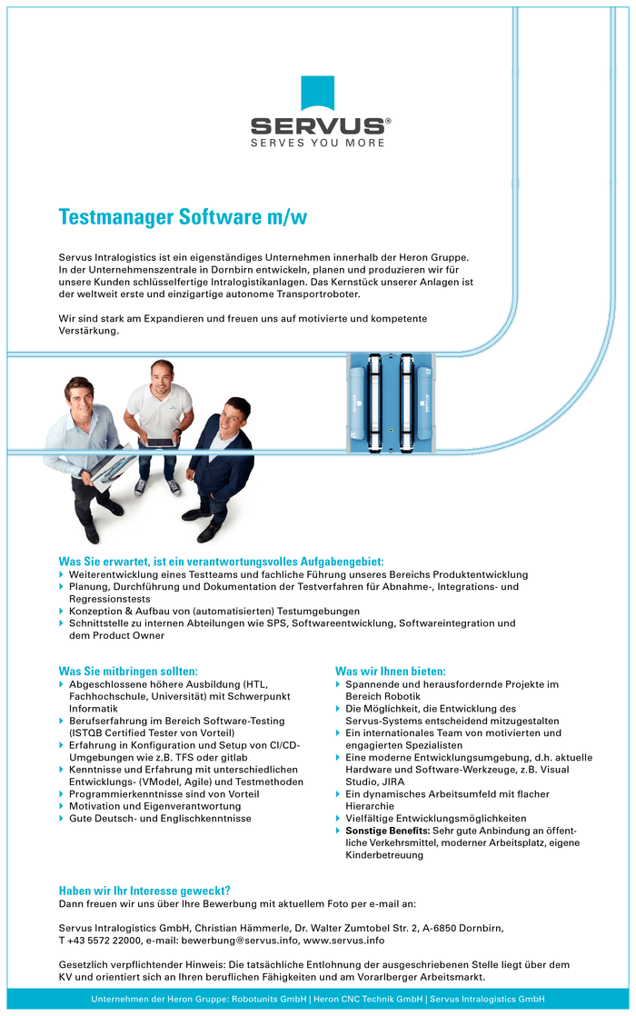 Testmanager Software m/w