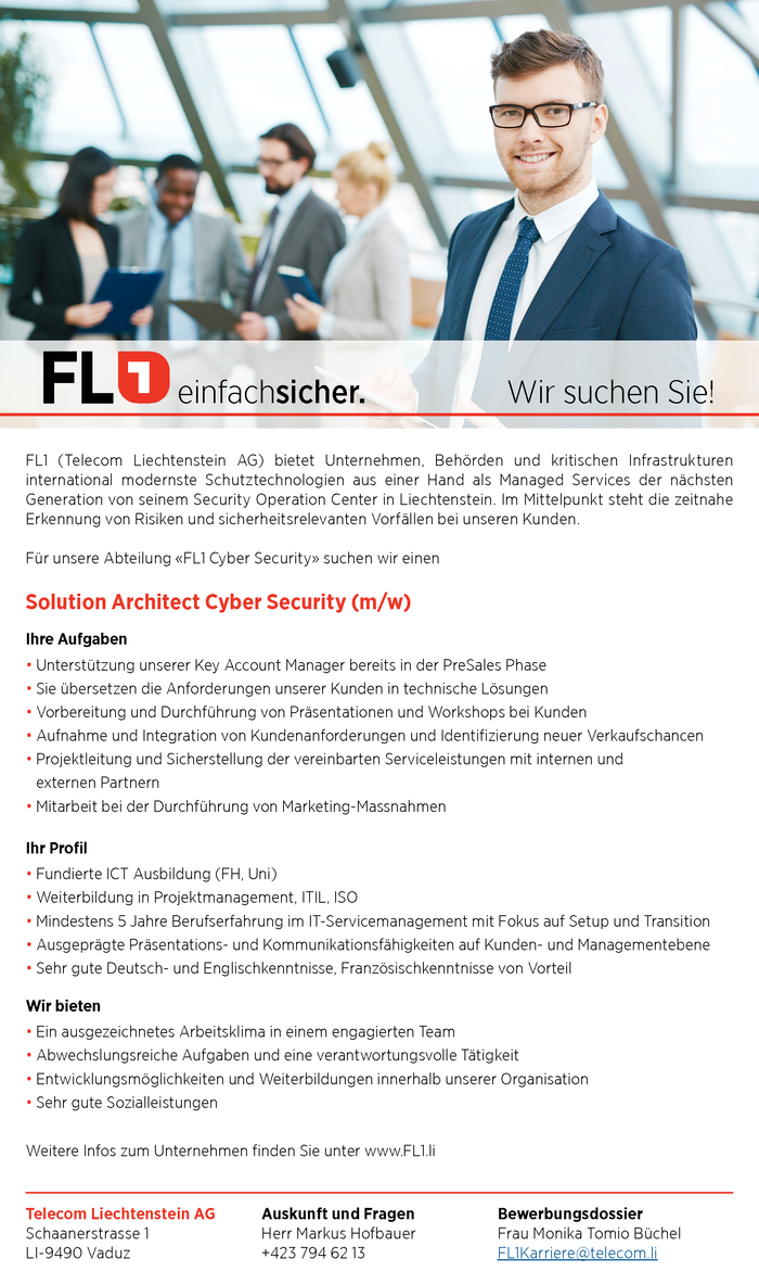 Solution Archticet Cyber Security (m/w)
