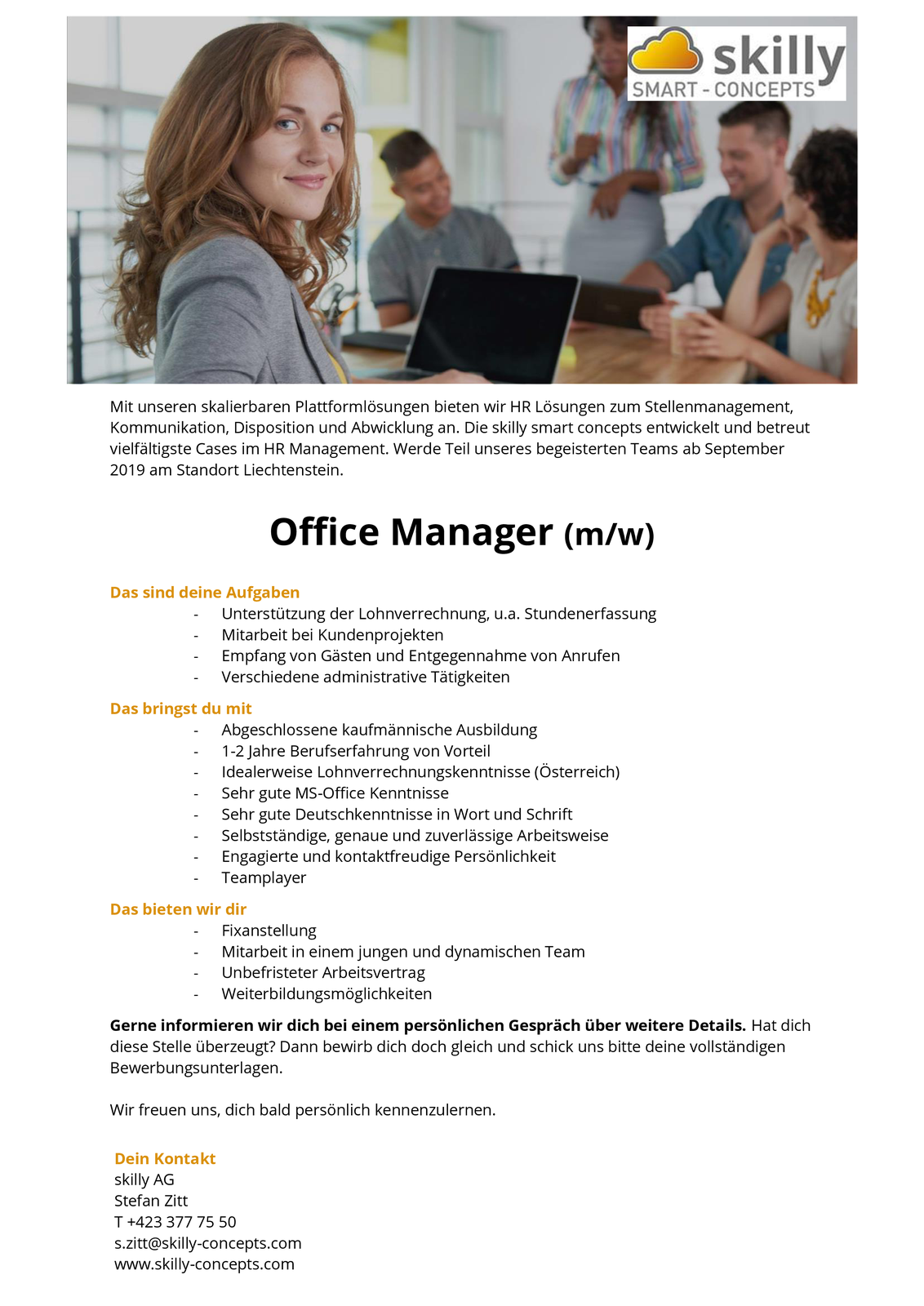 Office Manager (m/w)