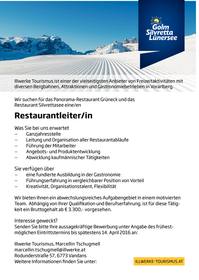 restaurantleiterin