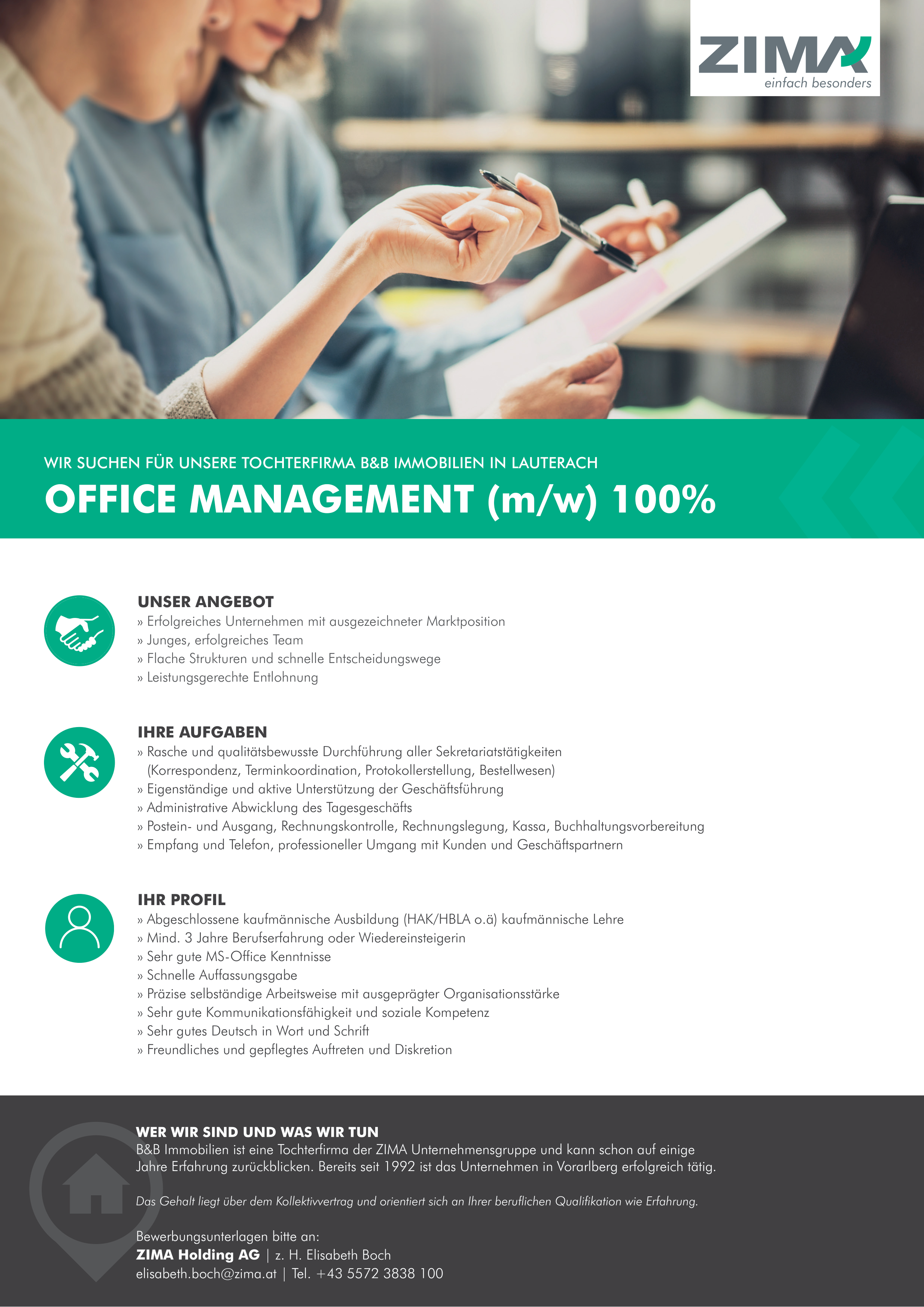 Office Management (m/w) 100%