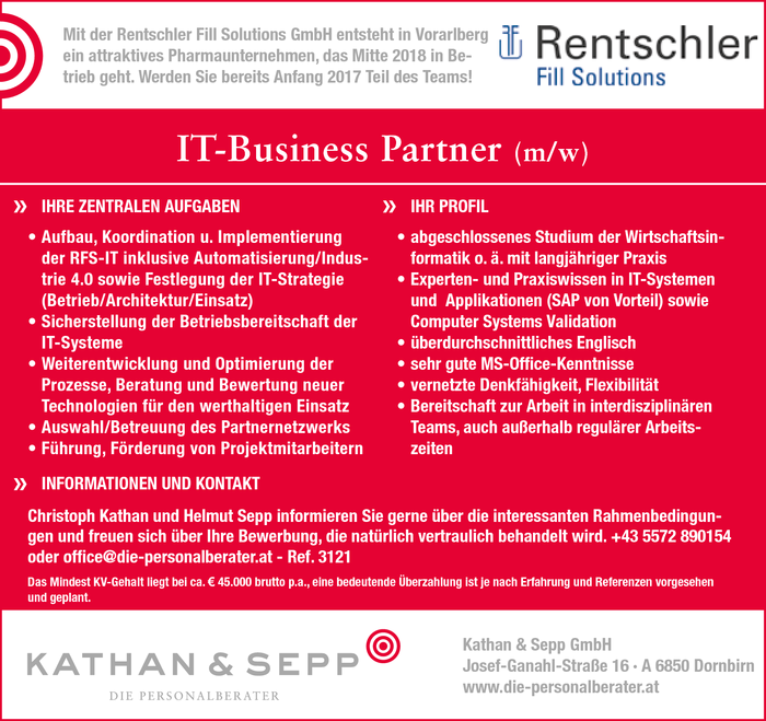 IT-Business Partner (m/w)