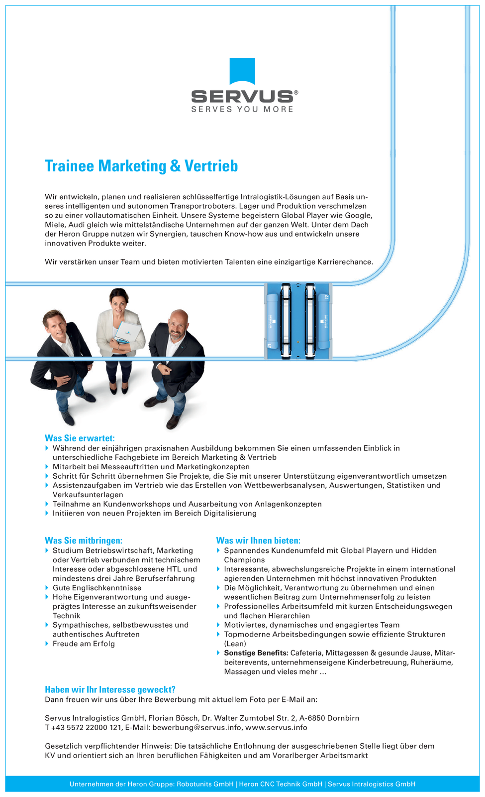 Trainee Marketing & Vertrieb