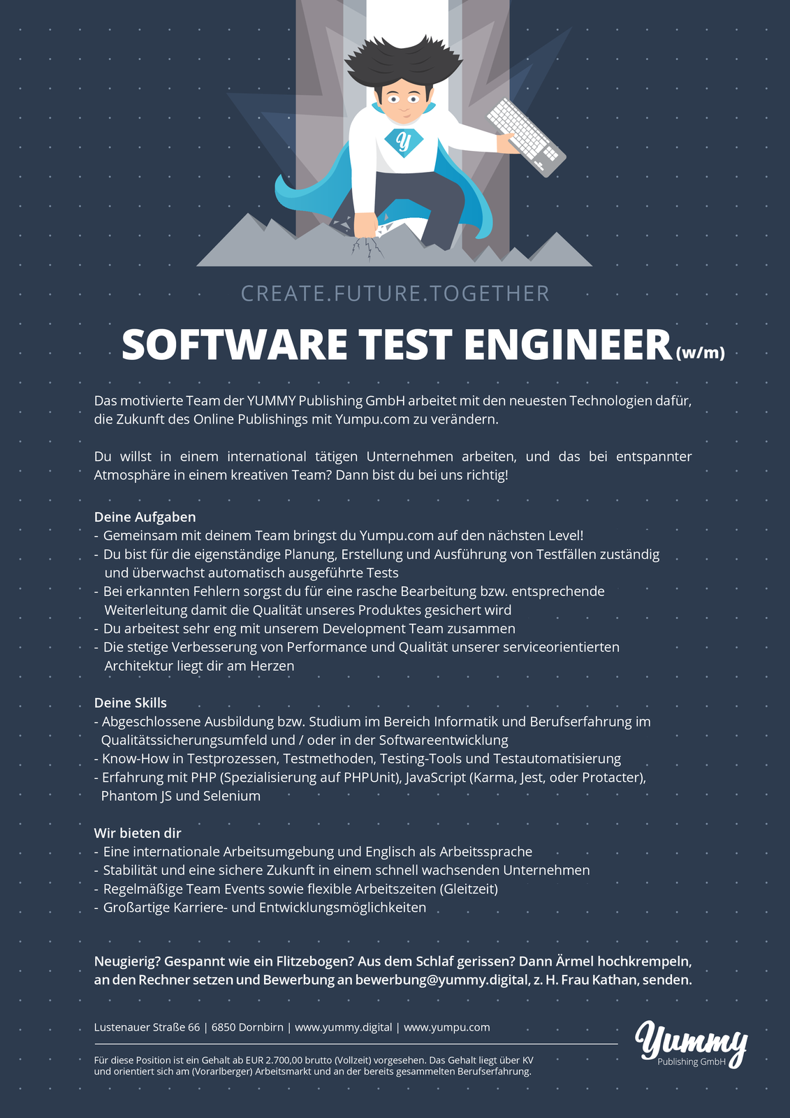 Software Test Engineer (w/m)