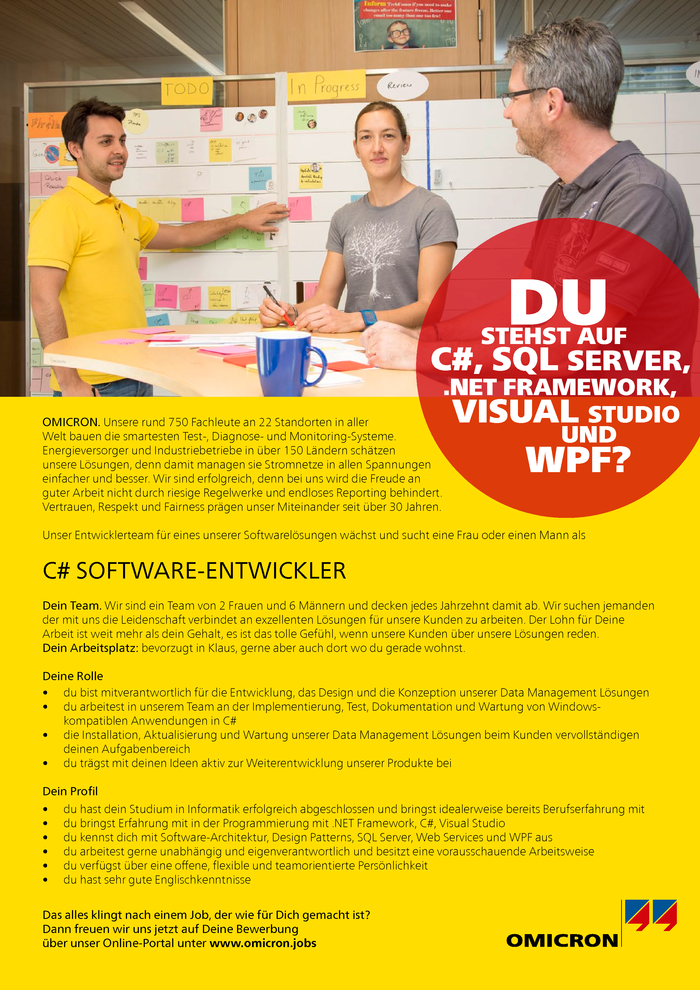 C# Software-Entwickler