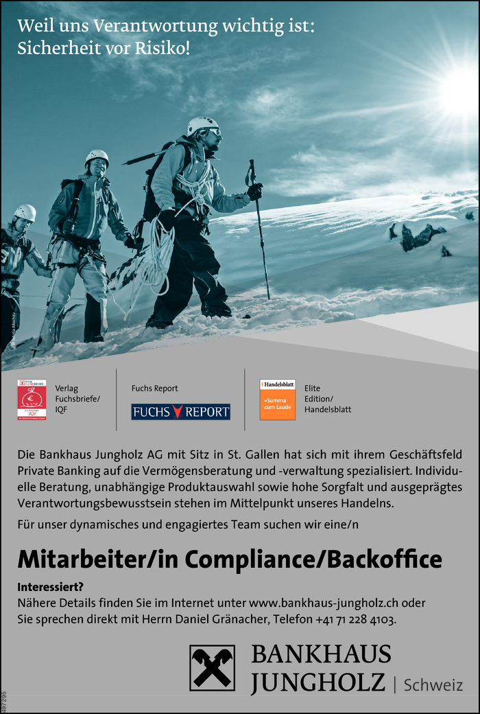 Compliance/Backoffice