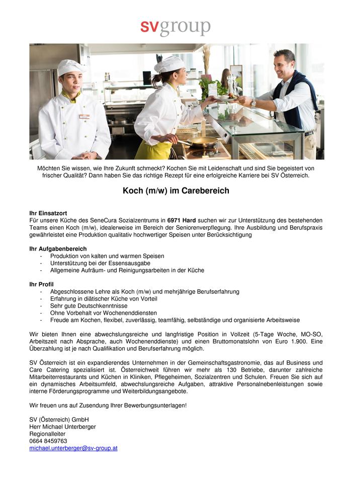 Ausgezeichnet Catering Koch Lebenslauf Fähigkeiten Ideen - Beispiel ...