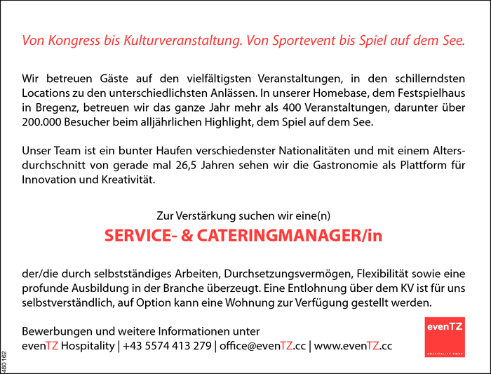 service-und-cateringmanagerin