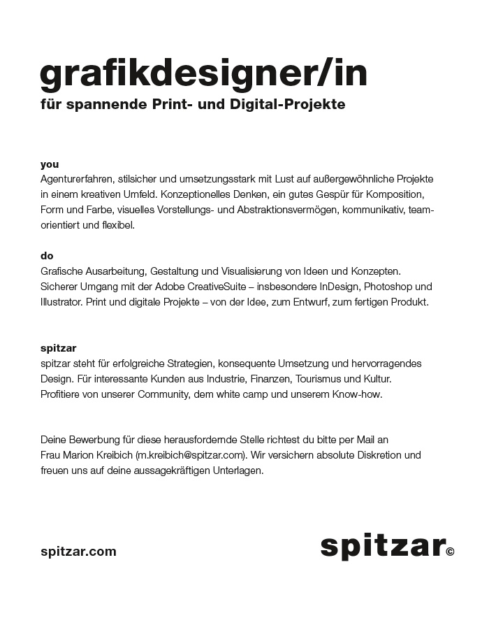 Grafikdesigner/in