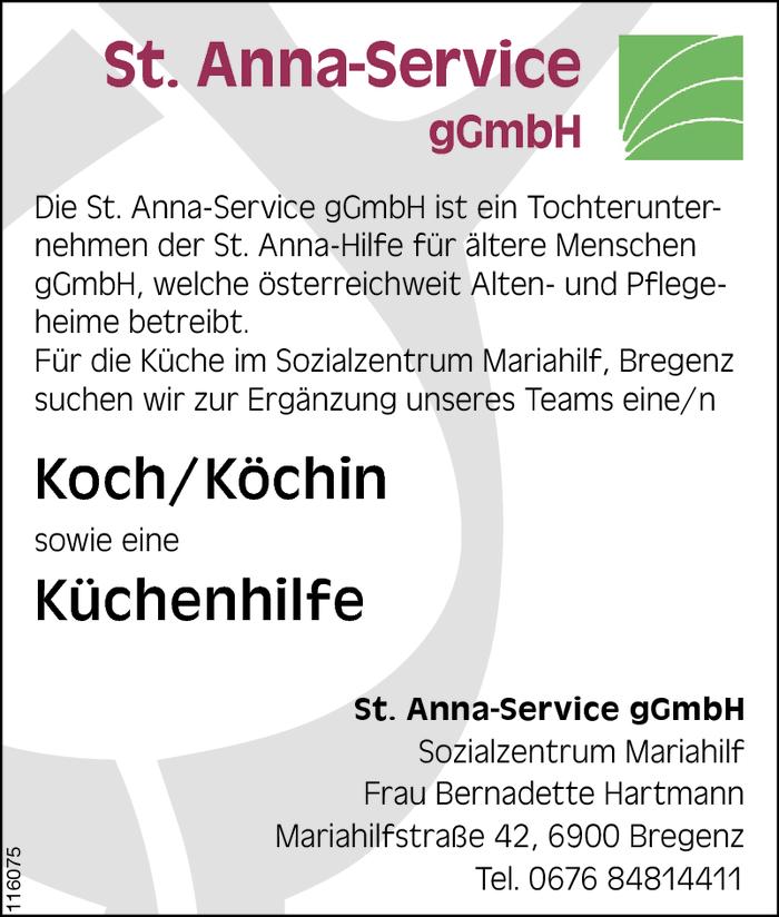 Koch k chin k chenhilfe bregenz jobs in vorarlberg for Koch gehalt netto