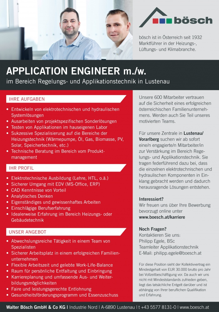 Application Engineeer m./w.