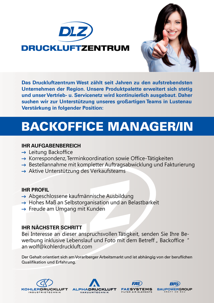 backoffice-managerin
