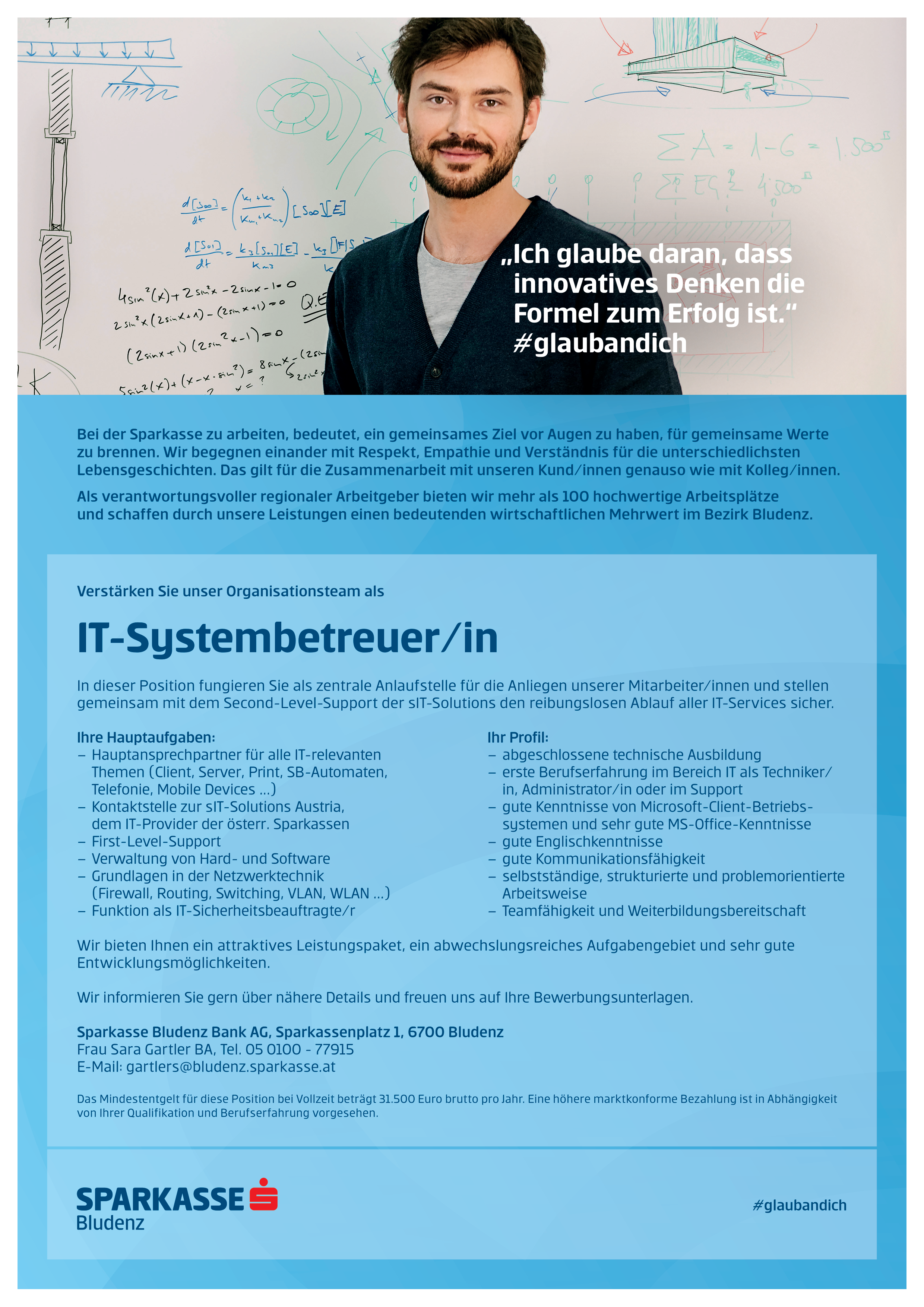 IT-Systembetreuer/in