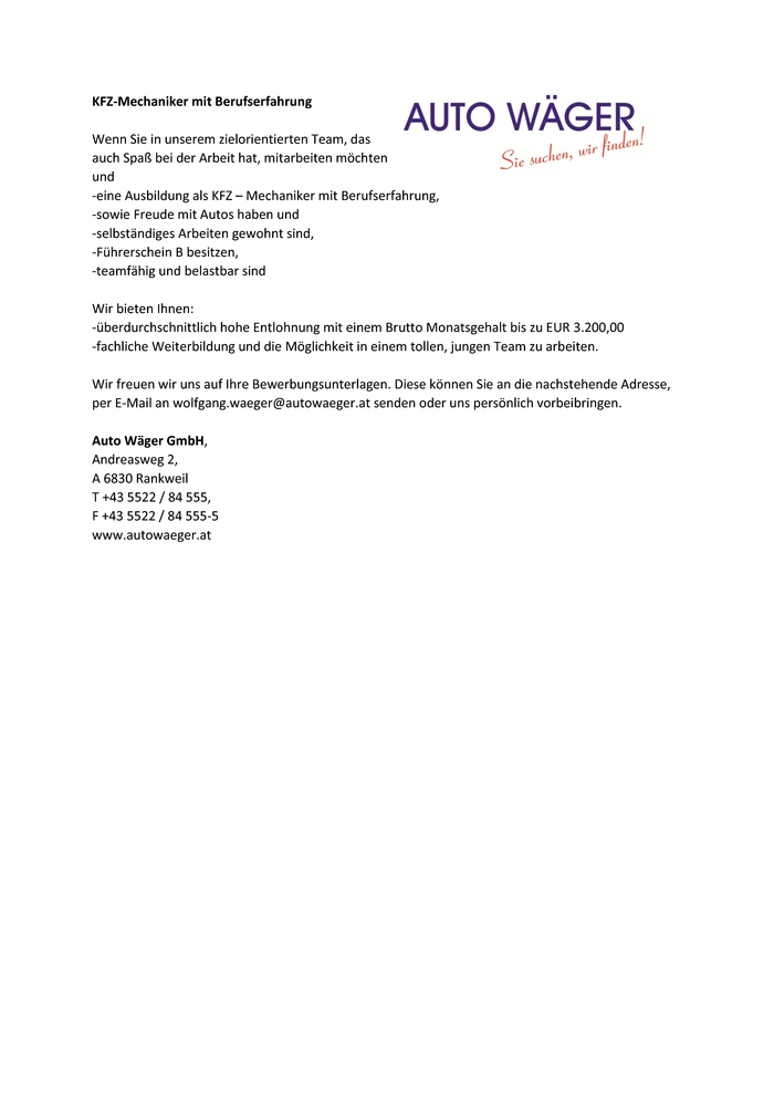 Fein Automechaniker Lebenslauf Vorlage Bilder - Entry Level Resume ...