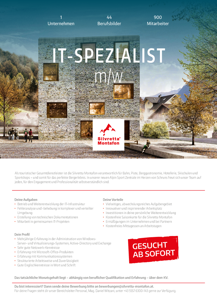 IT-Spezialist (m/w)