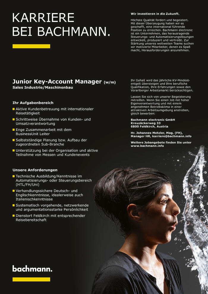 Junior Key Account Manger (w/m)