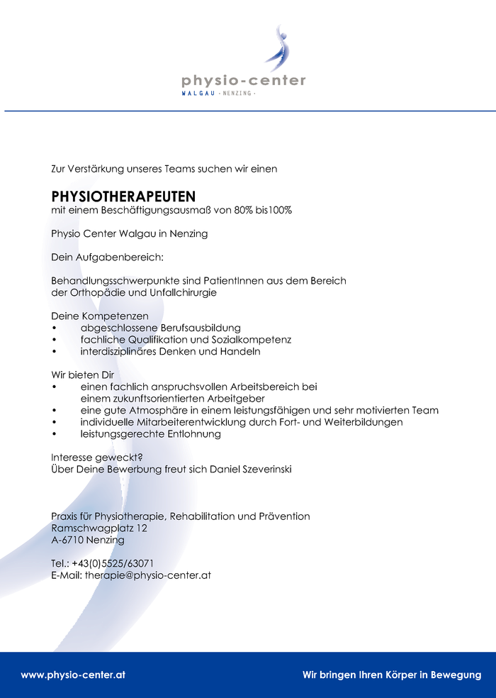 physiotherapeut-mw