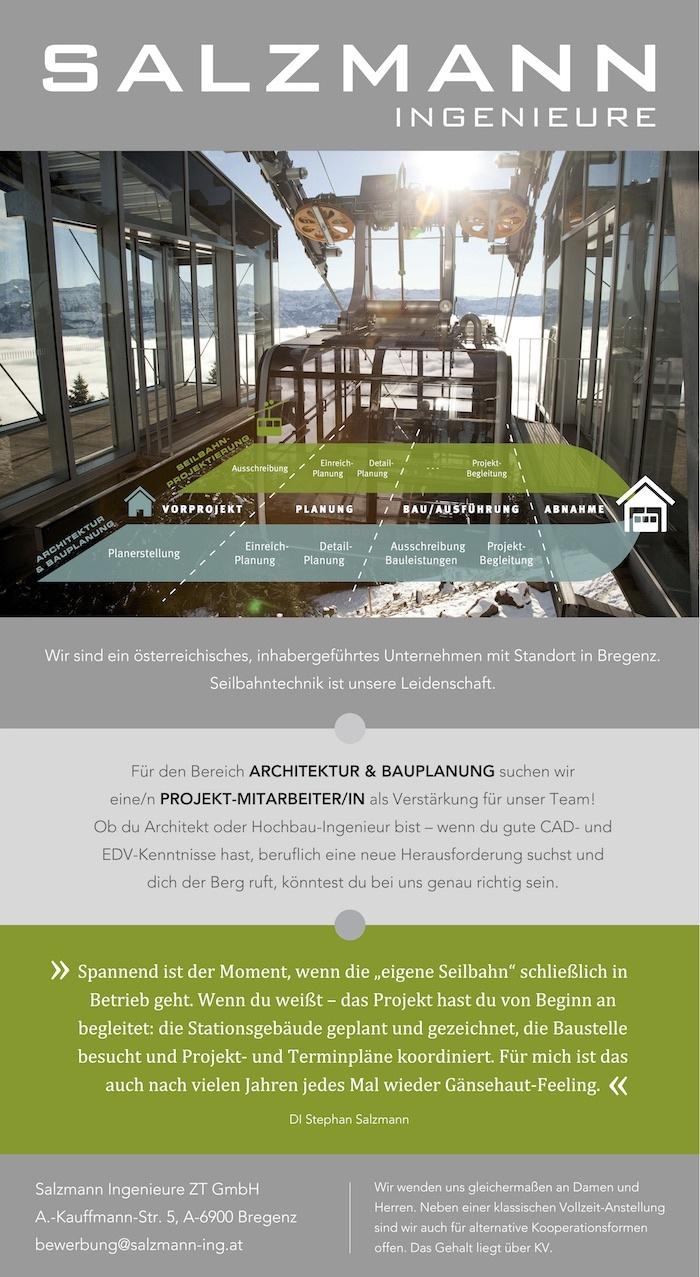 projektmitarbeiterin architektur und bauplanung