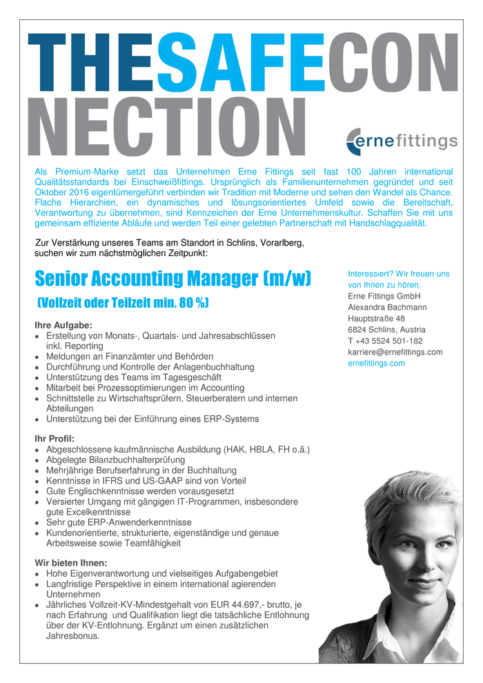 Senior Accounting Manager (m/w)