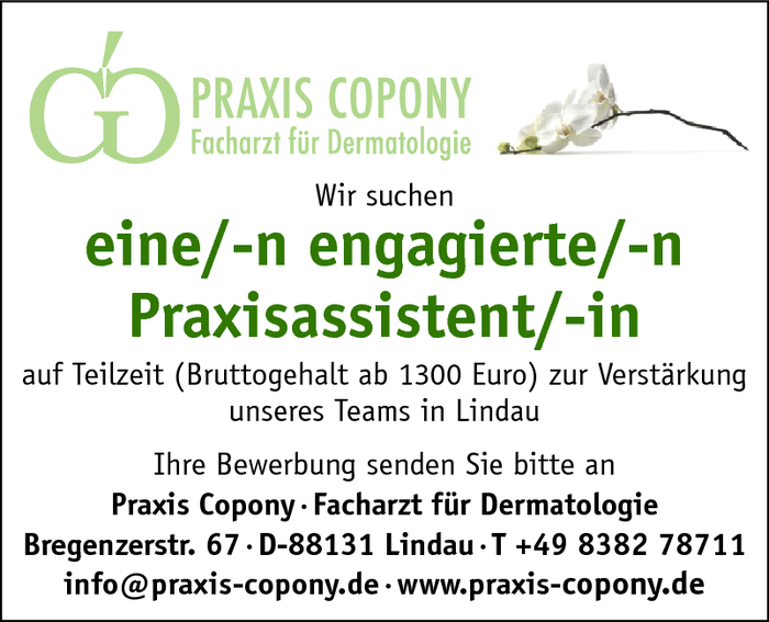 Praxisassistent/in