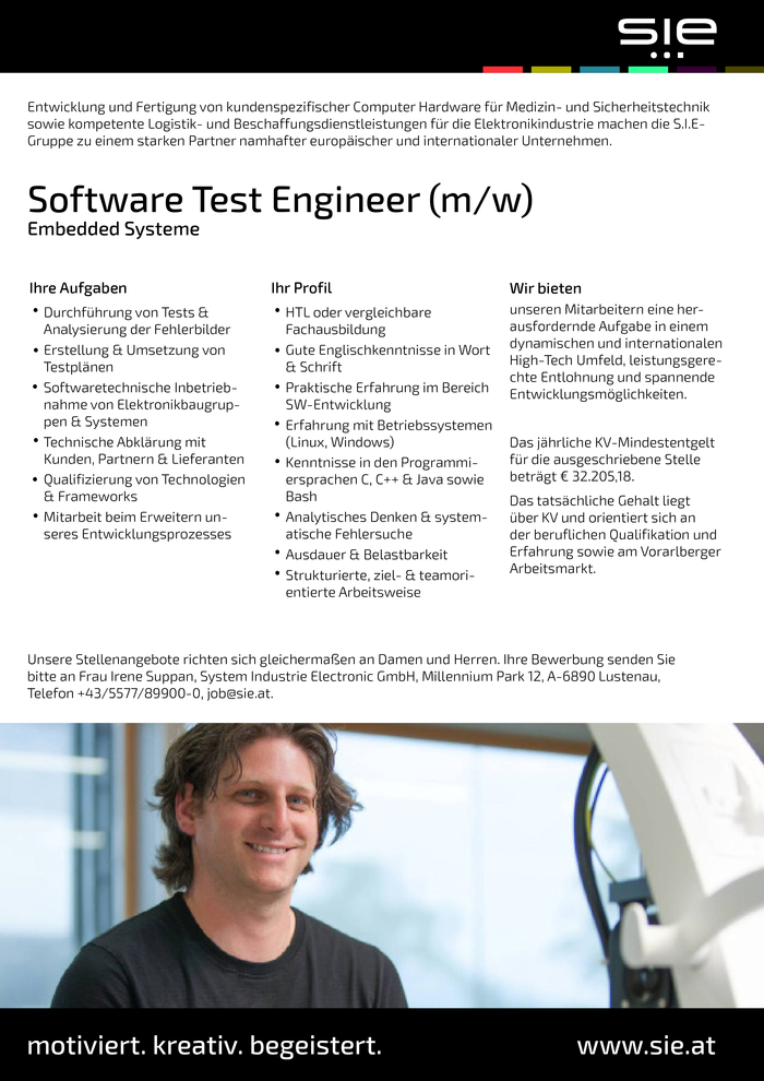 Software Test Engineer (m/w)