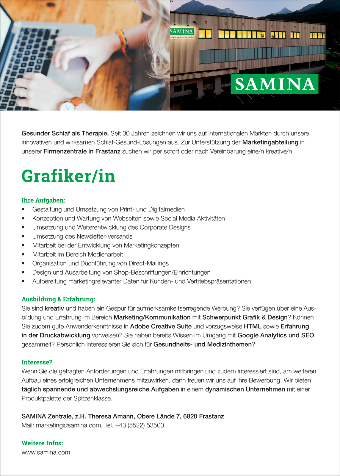 Grafiker/in | Mediendesigner/in