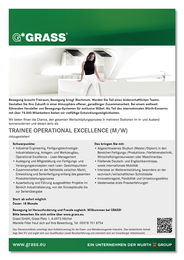 Trainee Operational Excellence (m/w)