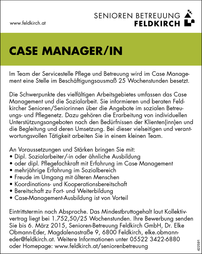 case-managerin