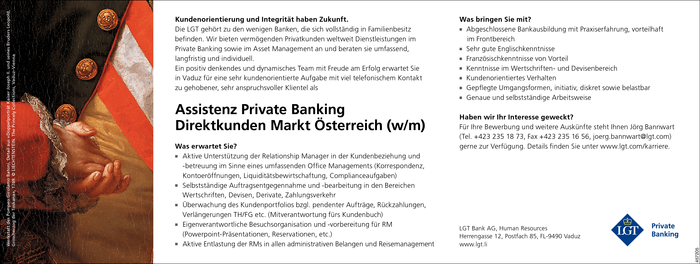 Assistenz Private Banking