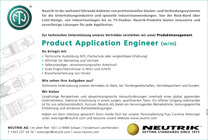 product-application-engineer