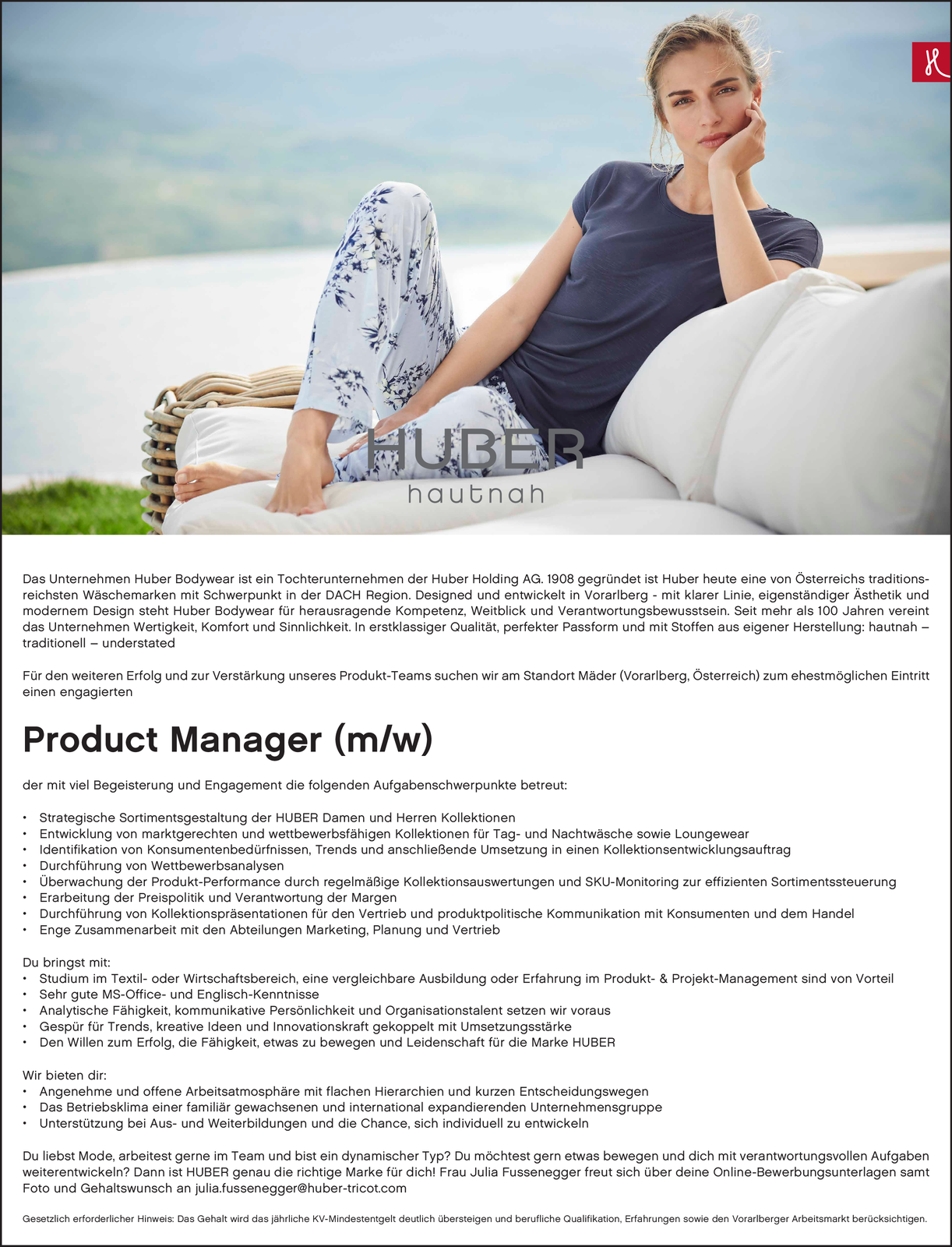 Product Manager (m/w)
