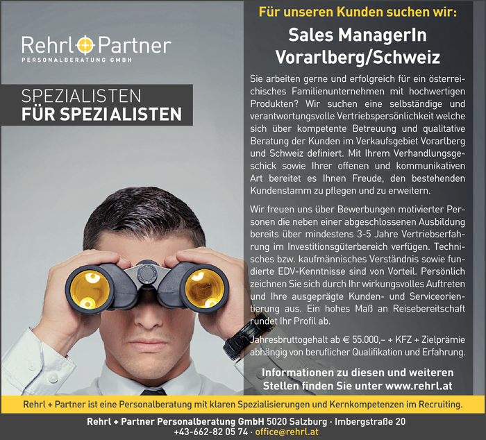 sales-managerin